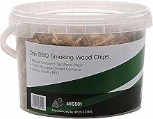 First4Spares Classic Eiche Rauchen Holz Chips für Fire Gruben BBQ ist & Raucher–3L wiederverschließbaren Dose für frische