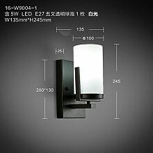 Firsthgus E27 Wandlampe Chinesisches Schlafzimmer