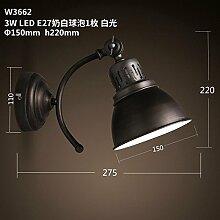 Firsthgus E27 Wandlampe Loft Industrial