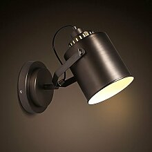 Firsthgus E27 Wandlampe Loft Industrie Eisen