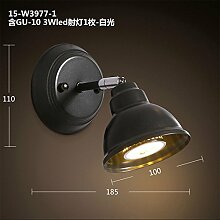 Firsthgus E27 Wandlampe Loft Vintage Industrial