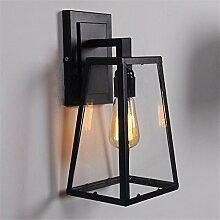 Firsthgus E27 Wandlampe Outdoor Schlafzimmer Bar