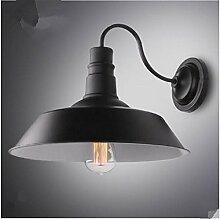 Firsthgus E27 Wandlampe Retro Wandleuchte, Single