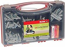 Fischer 513433Kit Easy Box Dübel und Schrauben