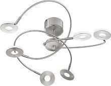 FISCHER & HONSEL LED Deckenspots Dent, LED-Board,