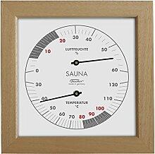 Fischer Sauna Thermometer & Hygrometer 170 mm, 188TH-03