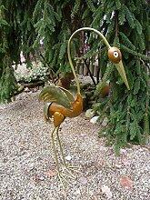 Fischreiher Reiher Kranich Gartendeko Tierfigur