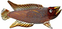 Fischstatuendekoration, Glas tropische