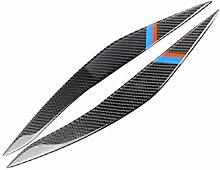 fish 1Pair Carbon-Faser-Scheinwerferblenden