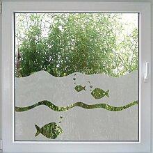 Fishy-Fishy-Fensterfolie - dekorativer