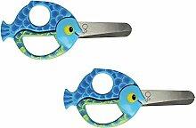 Fiskars 13cm Fisch Kids Animal Sicherheit Schere