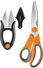 Fiskars Küchenschere 2 Piece Shears Set Orange
