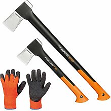 FISKARS© Set Spaltaxt X25 - XL + Spaltaxt X11 - S