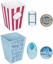 Fiskars Sicherung groß Party Karton Design Teller
