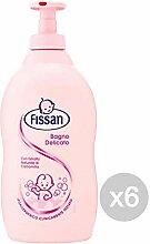 Fissan Set 6 Babybadewanne Delicate Ml 400 Pflege