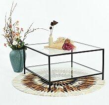 Fit @ Home Couchtisch Stilvolle Top Beistelltisch,