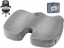 Fitem® Orthopädisches Sitzkissen (Memory Foam) -