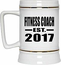 Fitness Coach Established EST. 2017 - Beer Stein