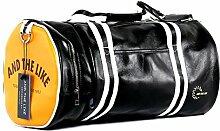 Fitness Tasche Sporttasche Männer Und Frauen Schultertasche Messenger Mobile Training Tasche Schuhe Basketball Tasche Zylinder Reisetasche,A-45*25*25cm
