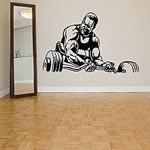 Fitness Wandtattoos Teen Schlafzimmer