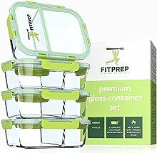 FITPREP® - Frischhaltedosen aus Glas [4