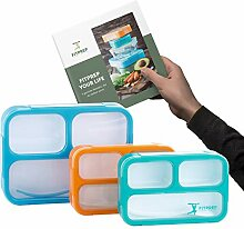 FITPREP® Premium Lunchbox Bento Brotdose Set für