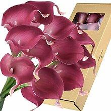 FiveSeasonStuff Calla-Lilien, künstliche Blumen,