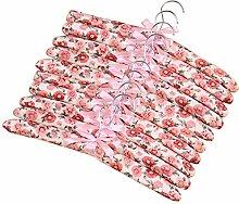 Fivtyily Gepolsterte Kleiderbügel mit