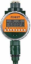FIXKIT Neue Bewässerungsuhr mit Regensensor, LCD