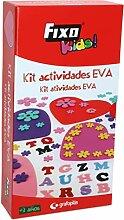 Fixo Aktivitäts-Set aus EVA-Gummi, 25 Figuren,