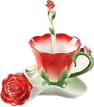 FJDISQ Tasse Kaffeetassen Procelain Teetassen und