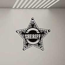Fjsabfj Polizei Wandaufkleber Wandbild für