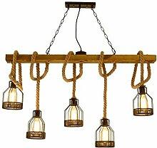 FJY Vintage Deckenleuchte Lichtschlauch