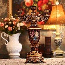 Fkduih Continental retro olun Leuchter American cabinet Dekoration basteln Zubehör Heimtextilien