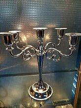 Fkduih Im europäischen Stil retro 5 Kopf 3 Kerze Tabelle, romantisches Abendessen bei Kerzenlicht, Dekorationen, Hochzeit Dekorationen, Dekorationen, Requisiten, Hotels, F