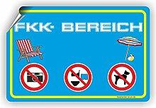 FKK Bereich / Freikörperkultur / FKK Strand-
