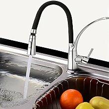 Flabor Küchenarmatur Wasserhahn Einhebel Spültischarmatur Armatur Spüle Mischbatterie