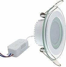 Flach dünn Slim LED Panel mit Glas Slim Flach