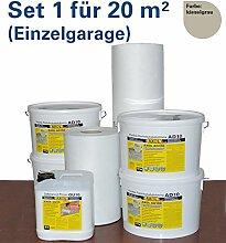 Flachdachabdichtung für 20 qm (Einzelgarage)