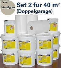 Flachdachabdichtung für 40 qm (Doppelgarage)