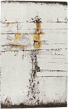 Flachgewebe-Teppich Abstract in Grau KARE Design