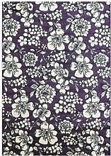 Flachgewebe-Teppich Bombay in Lila Ophelia & Co.
