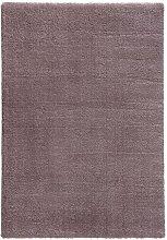 Flachgewebe-Teppich Crowne in Malvenrosa Ebern