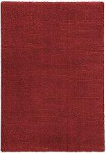 Flachgewebe-Teppich Crowne in Rot Ebern Designs