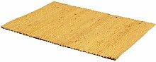 Flachgewebe-Teppich Hampshire in Gelb Sansibar Home