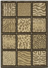Flachgewebe-Teppich Harty in Grün 17 Stories