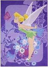 Flachgewebe-Teppich in Violett Disney Classics