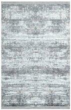 Flachgewebe-Teppich Jarred in Grau/Beige