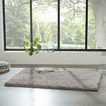 Flachgewebe-Teppich Jodi in Grau Ebern Designs