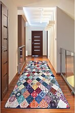 Flachgewebe-Teppich Lowther in Mehrfarbig
